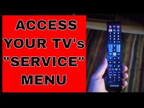 Samsung Vizio LG And Others Smart Tv's Secret menu/service