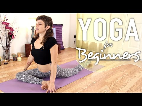 Yoga For Back Pain - 20 Minute Lower Back Stretch, & Sciatica Relief Flow