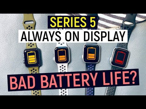 Apple Watch Series 5 Battery Life & Speed Test | Compare To Seires 4 And 3