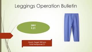 Leggings Operation Bulletin