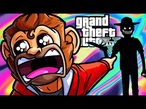 GTA5 Online Funny Moments - Beware the Crocodile Bundy!