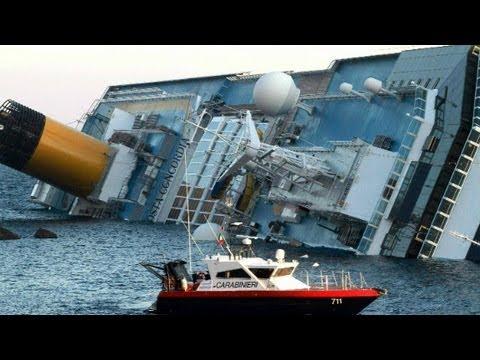 Italy cruise ship crash was 'chaos'