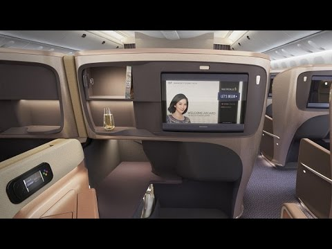 Singapore Airlines new Business Class seat tour