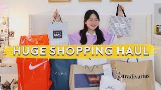 HUGE SHOPPING HAUL! ???? (PHILIPPINES) | ASHLEY SANDRINE