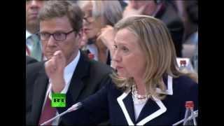 "Клинтон: ""Россия и Китай заплатят за поддержку Асада"""