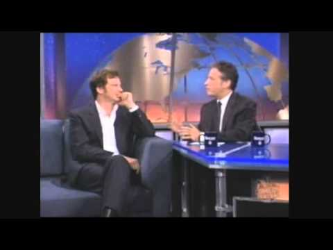 Colin Firth on The Daily show 2003