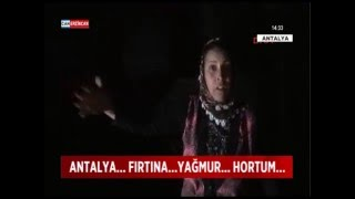 Antalya'daki hortum dehşetini böyle anlattı