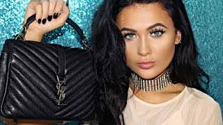 What's In My Bag 2017 | YSL College Bag