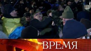 НаУкраине отмечают четвертую годовщину начала Евромайдана.
