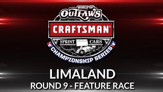 World of Outlaws Craftsman Sprint Car Championship // Race 9 - Limaland