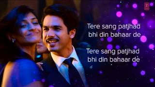 Mallo Malli Naal Yaar De Lyrical Video Song | Mausam | Shahid kapoor ,Sonam Kapoor