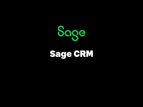 Sage CRM - Security Administration - Edit a User
