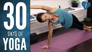 Video Day 7 - Total Body Yoga - 30 Days of Yoga download MP3, 3GP, MP4, WEBM, AVI, FLV Desember 2017