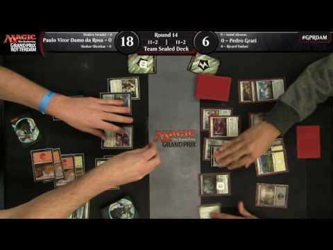 Magic the Gathering Grand Prix Rotterdam Round 14