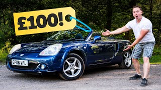 I Bought A Broken MR2 On Instagram For £100