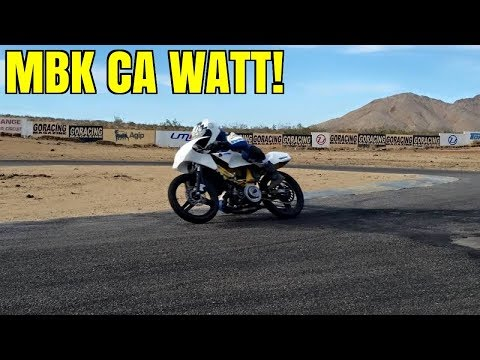 GROS WATTAGE MBK SUR CIRCUIT DESERT CALIFORNIEN !!