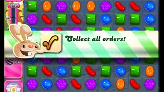 Candy Crush Saga Level 1045 walkthrough (no boosters)