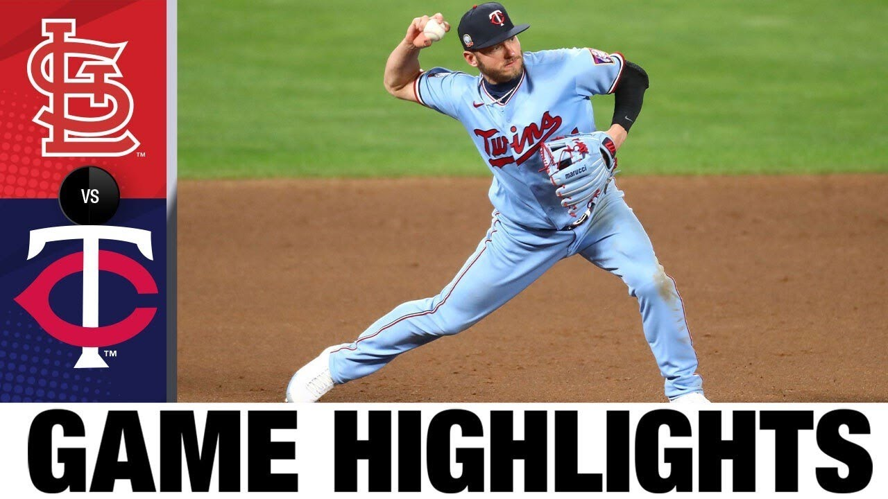Eddie Rosario homers in Twins' 3-0 win | Cardinals Twins Highlights 7/29/20