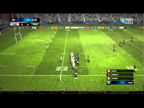 Rugby World Cup 2011 Demo Gameplay