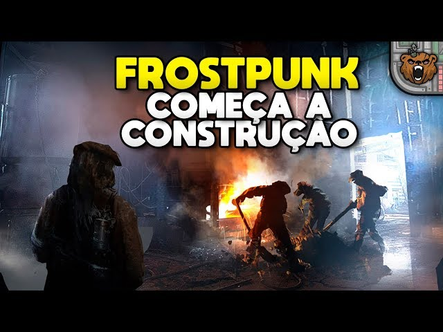 Iniciando as obras no poço | Frostpunk #03 - Last Autumn Gameplay PT-BR