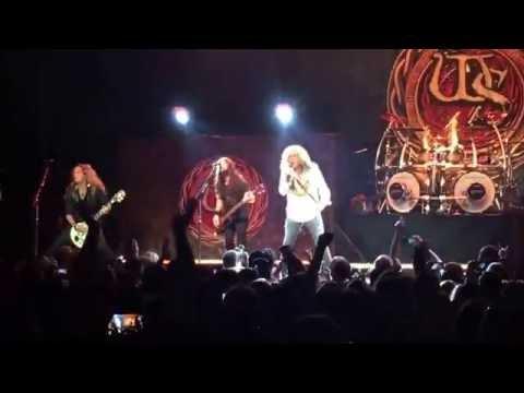 Whitesnake Bad Boys Joel Hoekstra & Reb Beach Solos Montclair NJ June 2016