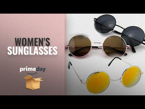 Women\'s Sunglasses Prime Day 2018: beyove Men\'s and Women\'s Classic Fashion Full Mirrored 100% UV