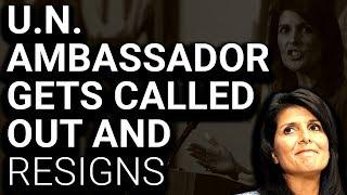 Trump UN Ambassador Nikki Haley Resigns Day After Investigation Request