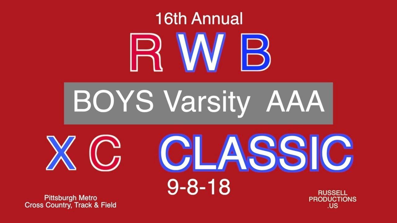 Red White Blue Xc Classic 9 8 18 Aaa Boys Varsity Awards