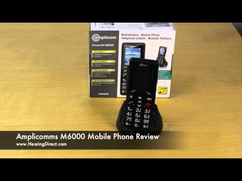 Amplicomms M6000 Mobile Phone Review