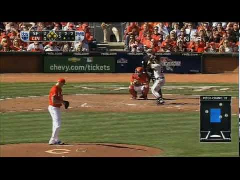 Buster Posey's Grand Slam - San Francisco Giants vs Cincinnati Reds Game 5 2012 NLDS
