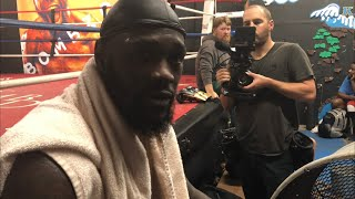 DEONTAY WILDER: GOES IN DEPTH ABOUT FUTURE FIGHTS, MOVIES, & BEING CERTIFIED SCUBA DIVER !!