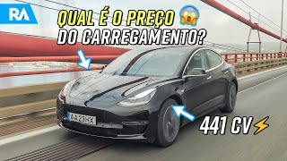 120 km de autonomia em 5 MINUTOS? 😱 Novo Supercarregador da Tesla em Portugal
