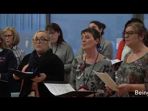 HSE Tullamore Staff Choir - Wish You Were Here by Pink Floyd