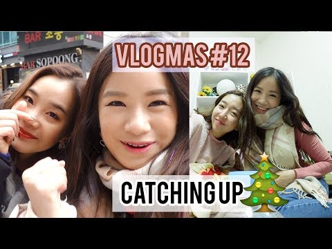 Catching Up With Sunny & Joan | Vlogmas #12