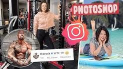 J'AI PHOTOSHOPÉ MES PHOTOS INSTAGRAM PENDANT 7 JOURS | Qui a remarqué ? - Claire