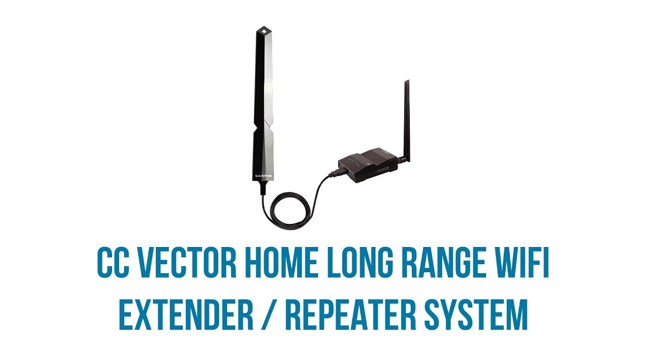 C Crane Vector Long Range WiFi Repeater/Extender System Setup Guide