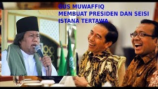 Ceramah Gus Muwafiq Terbaru Di Hadapan Presiden Di Istana Negara