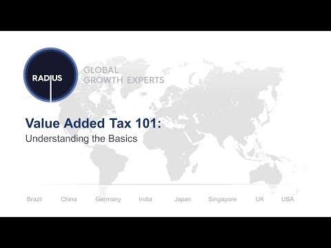 Value Added Tax 101: Understanding the Basic