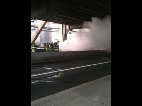 Manhattan Car Fire Box: 7159 59th Street Bridge