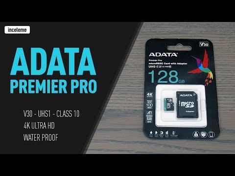 ADATA Premier Pro 128GB MicroSDXC UHS-I U3 Class 10 (V30) Hafıza Kartı