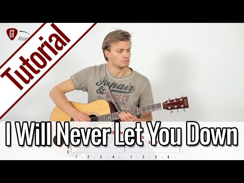 Rita Ora - I Will Never Let You Down | Gitarren Tutorial Deutsch