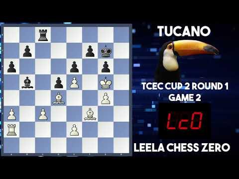 Leela Chess Zero vs Tucano| TCEC Cup 2| Round 1 Game 2| Leela's Amazing Start