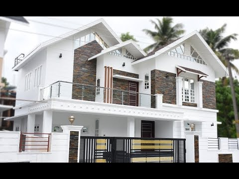 Cute Simple Modern House 1200 Sft for 12 Lakh | Elevation | Interior