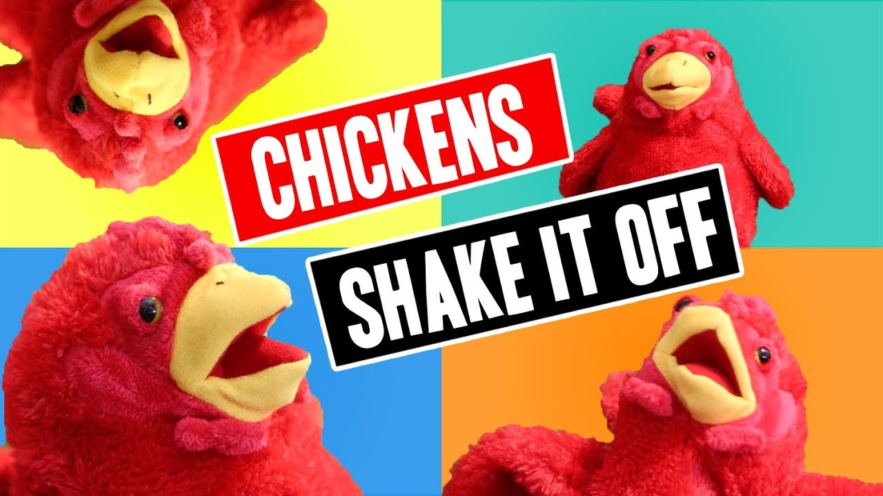 Shake it Off cover by The Cluckapellas | Acapella Chicken Song for kids