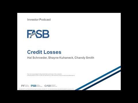 FASB Credit Losses Standard: Webcast for Investors