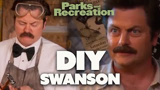 How To DIY During LOCKDOWN By Ron Swanson | Parks and Recreation | Comedy Bites