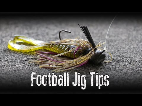 How to use a football jig buzzpls com for Jig fishing tips