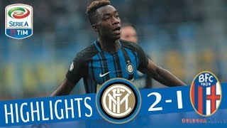 Inter - Bologna 2-1 - Highlights - Giornata 24 - Serie A TIM 2017/18