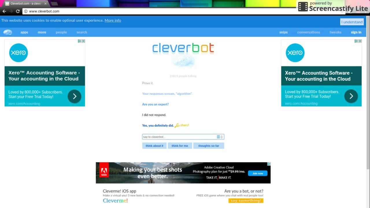 CLEVERBOT#1 GOT ROASTED
