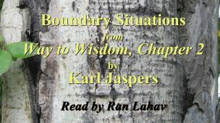 Karl Jaspers on Boundary Situations
